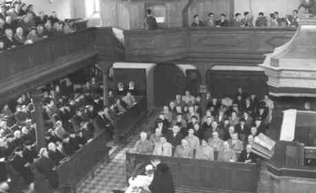 Gottesdienst 1957